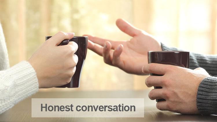 Honest conversations in marketing