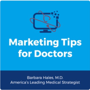 Marketing tips for doctors podcast